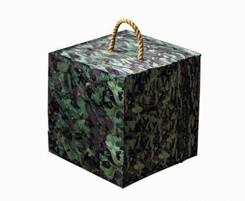 Мишень-куб из изолон-блока 50х50х40