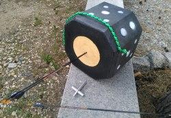 Мишень переносная Куб со сменной вставкой