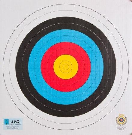 Мишень J.V.D. FITA 40см /18м
