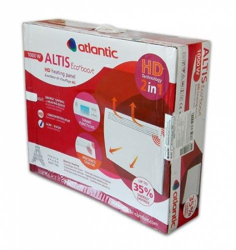 Конвектор электрический (обогреватель Атлантик) Atlantic Altis Ecoboost HD-2 CHG-3 Pack2 DAP 1000 Вт