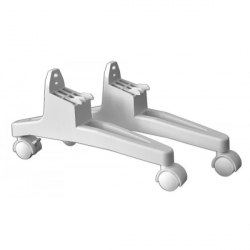 Комплект ножек для напольной установки конвектора, с колесиками Atlantic Universal