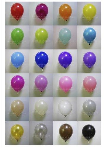 Облако гелиевых шаров 100 шт. Обработка для продления полета шариков бесплатно!