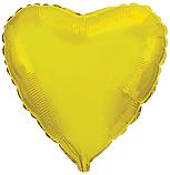 Шарик золотое сердце 45 см.