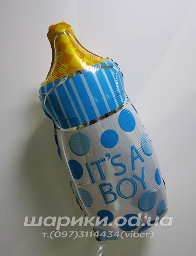 Шарик Бутылочка на выписку в Одессе