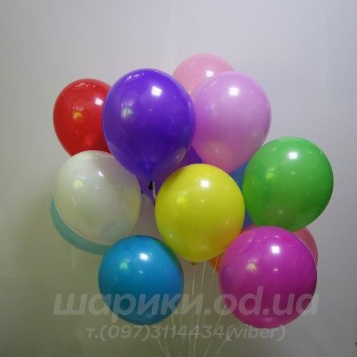 Гелиевый шарик (32 см) Долго летающий