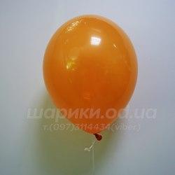 Оранжевый гелиевый шарик