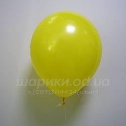 Желтый гелиевый шарик