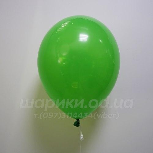 Зеленый гелиевый шарик