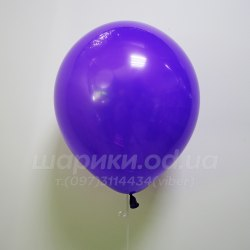 Фиолетовый гелиевый шарик