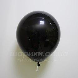 Черный гелиевый шарик