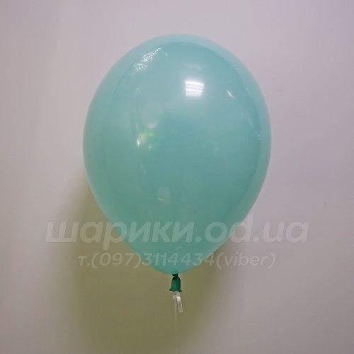 Бирюзовый гелиевый шарик