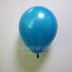 Темно бирюзовый гелиевый шарик