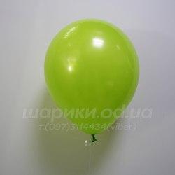 Салатовый гелиевый шарик
