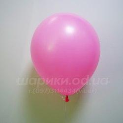 Розовый гелиевый шарик