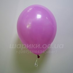 Темно розовый гелиевый шарик