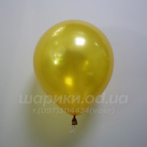 Золотой гелиевый шарик
