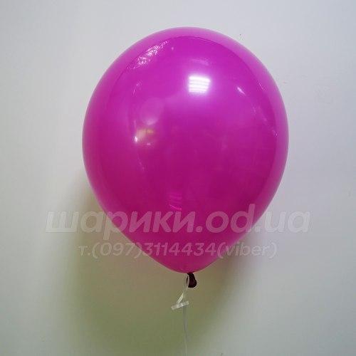 Малиновый гелиевый шарик
