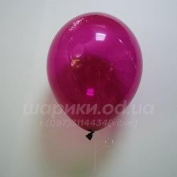 Бордовый гелиевый шарик