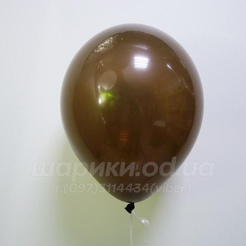 Коричневый гелиевый шарик