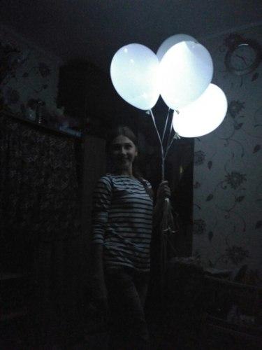 Светящийся шарик белый