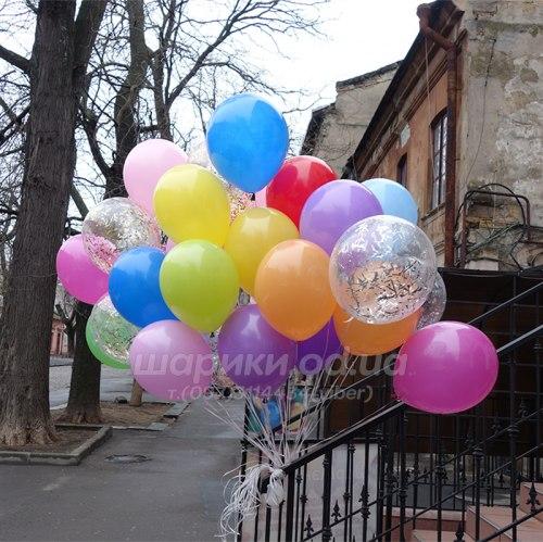 """Набор гелиевых шаров """"Чугада"""""""