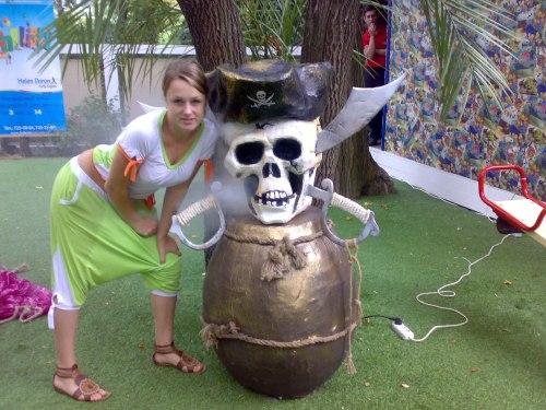Пиратские декорации (аренда)
