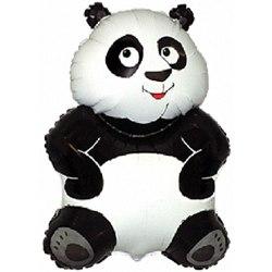 Шарик из фольги Панда