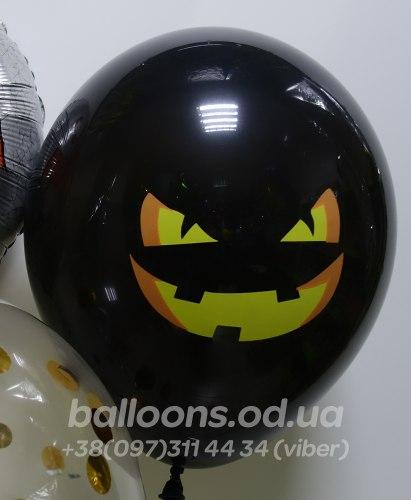 Злой смайл на Halloween