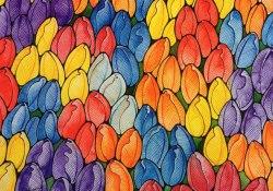 "Открытка ""Мамины тюльпаны"""