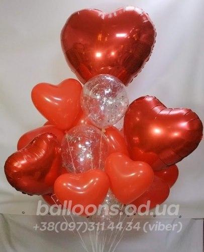 """Букет из воздушных шаров """"Для Любимой !"""""""