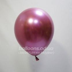 Шарик хром розовый