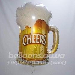 Шарик бокал пива (Пиво в бокале)