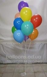 Сет гелиевых шариков 10-ка