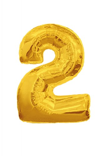 "Шарик цифра ""2"""