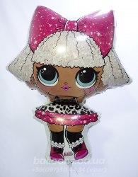 Фольгированный шар кукла LOL