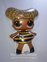 Фольгированный шарик кукла LOL