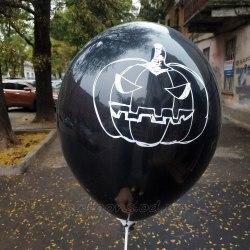 Гелиевые шарики на Хэллоуин