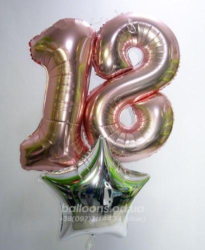 "Шарик цифра ""18"""