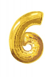 "Шарик цифра""6"""