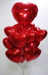 """Сет из шариков """"15 сердечек"""""""