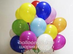 Разноцветные гелиевые шарики (32 см)