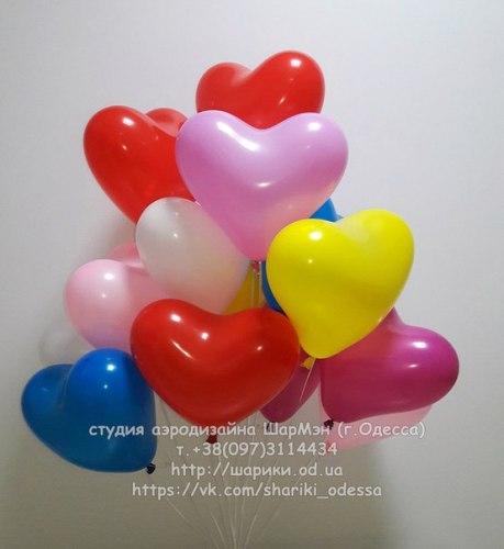 Гелиевый шарик сердце