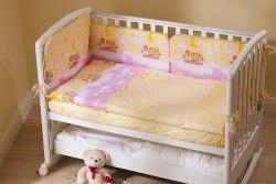 Постель детская Perina Аманда (Ночка розовая) 6 предметов