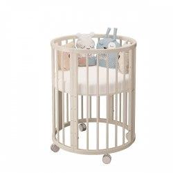 Кроватка детская Эстель 6 в 1 (Слоновая кость)
