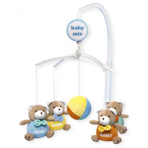 Музыкальные карусельки Baby Mix Мишки baby (плюшевые) 715