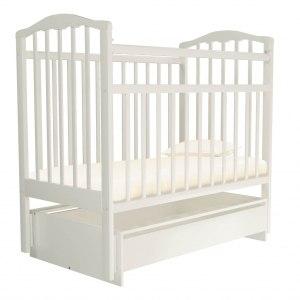 Детская кроватка Агат Золушка 4 (белый)