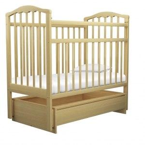 Детская кроватка Агат Золушка 4 (светлый)