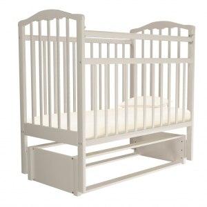 Детская кроватка Агат Золушка 5 (белый)