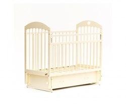 Детская кроватка Бамбини Комфорт 19 (слоновая кость)