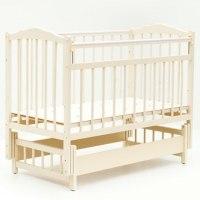 Детская кроватка Бамбини 11 (слоновая кость)